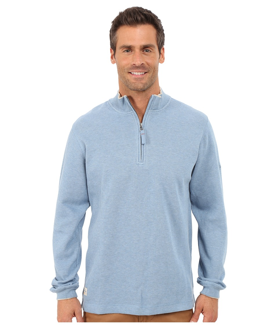 Quiksilver Waterman - Point Sur 3 Sweatshirt (Real Teal) Men's Sweatshirt