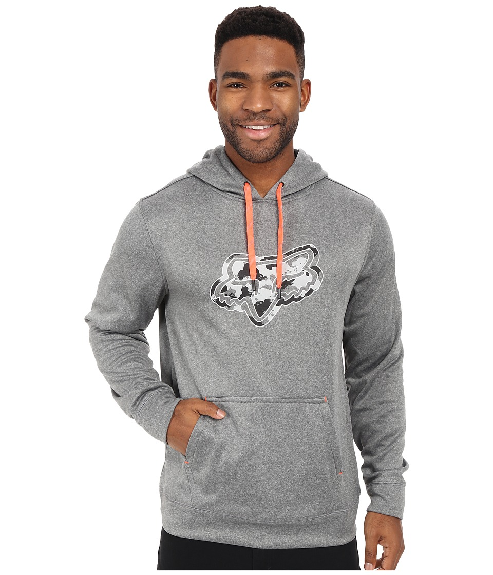 Fox - Qualifier Pullover Fleece (Heather Graphite) Men's Sweatshirt