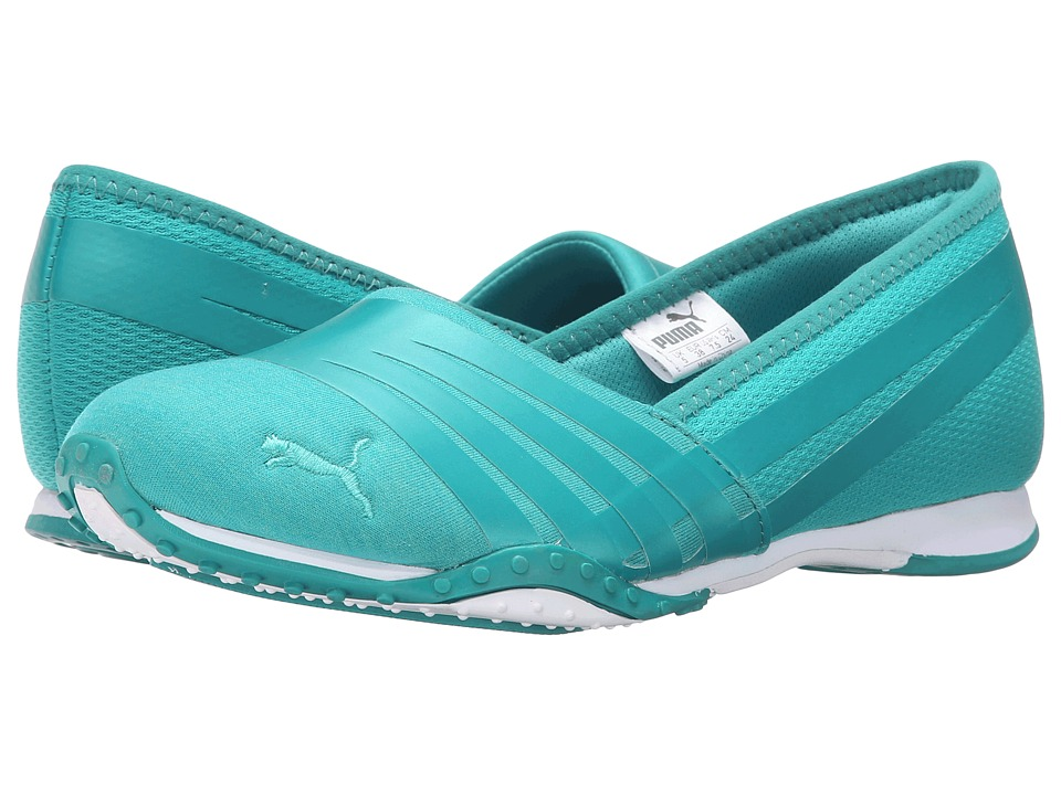 PUMA - Asha Alt 2 Jersey (Columbia Mint/Leaf) Women's Shoes