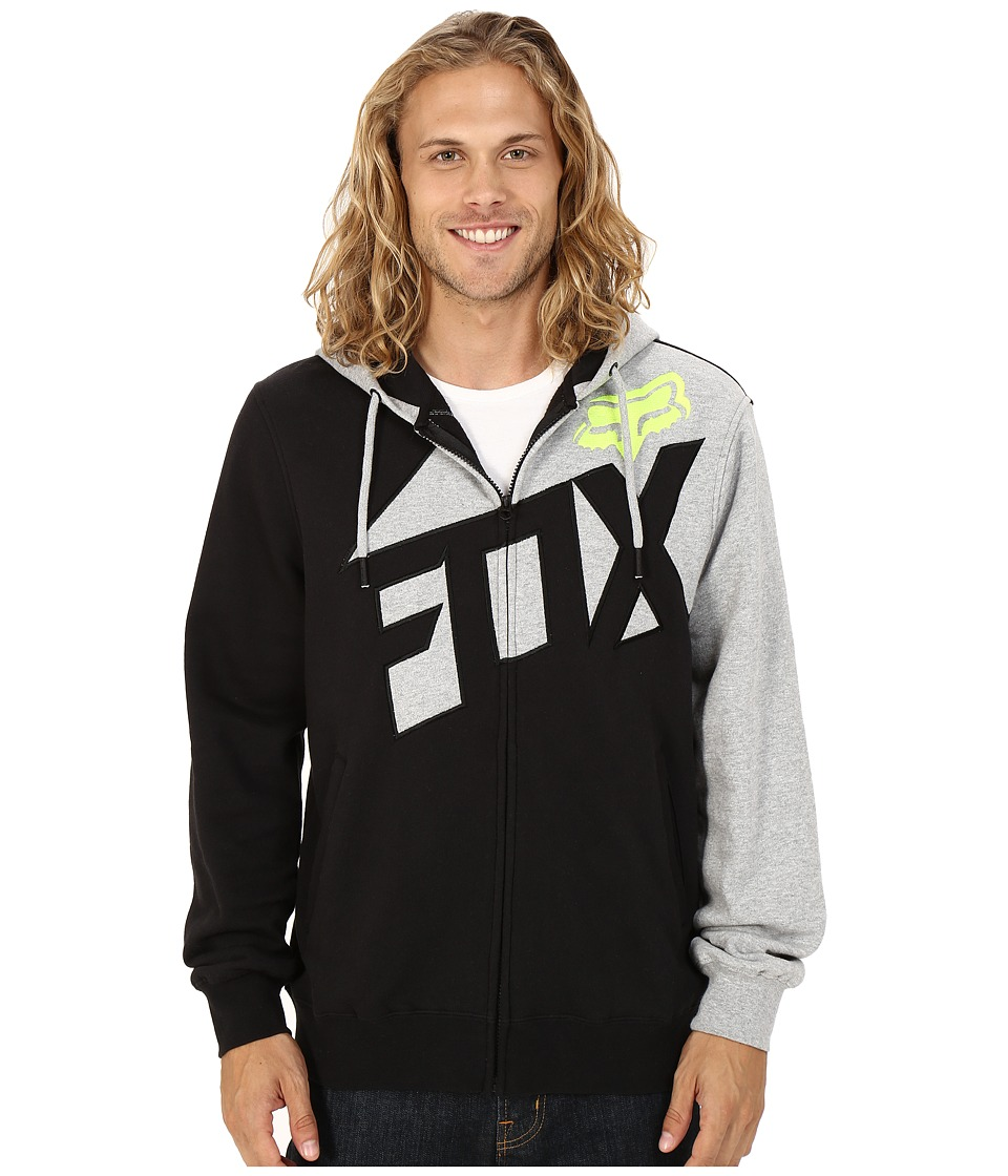 Fox - Breacher Zip Fleece (Heather Grey) Men's Sweatshirt