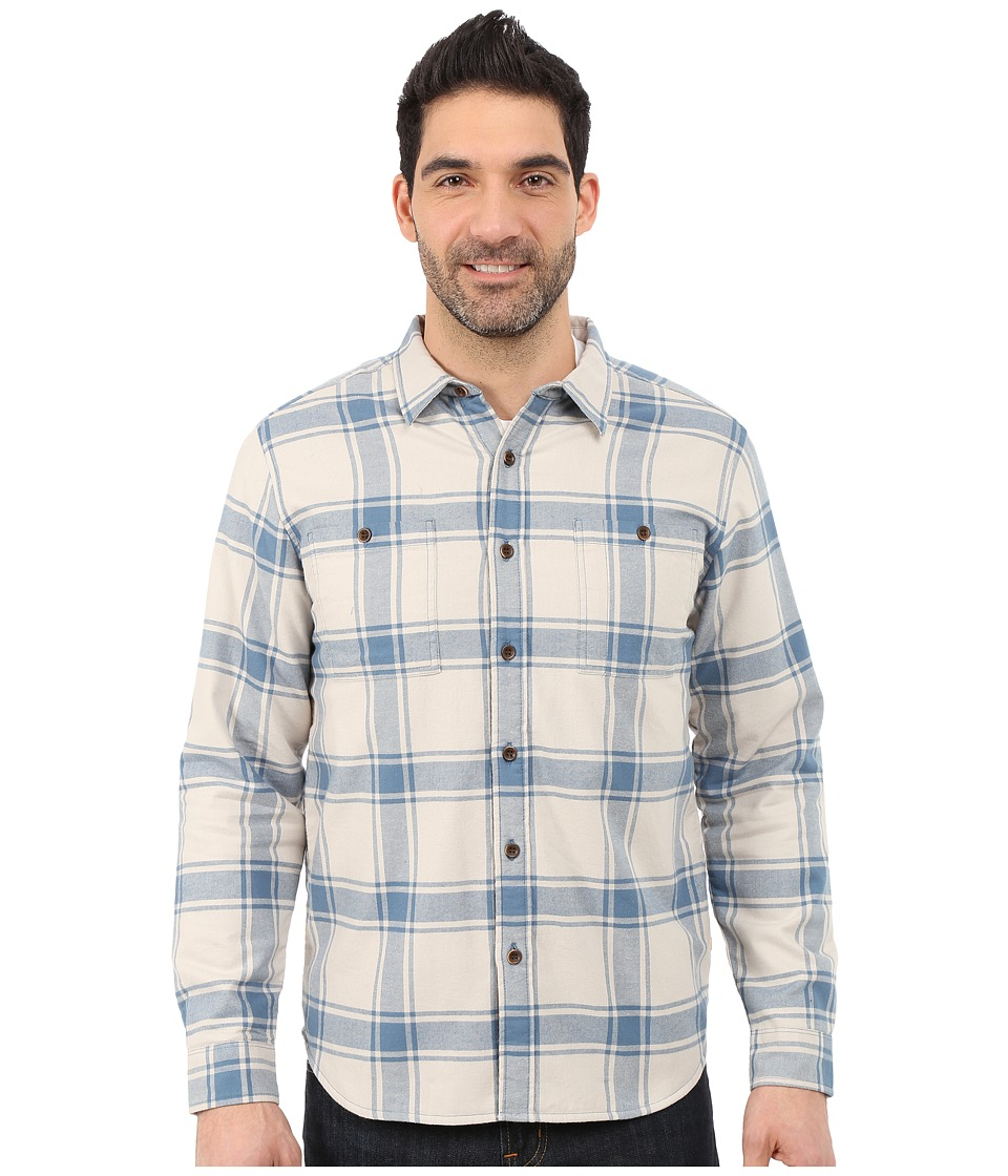 Quiksilver Waterman - Sierra Long Sleeve Woven Shirt (Laurel Oak) Men's Long Sleeve Button Up