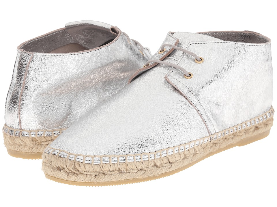Robert Clergerie Eloise (Silver Metallic Goat Leather) Women