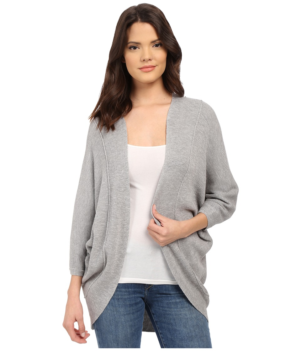 Splendid - Whitney Wrap (Light Heather Grey) Women's Sweater