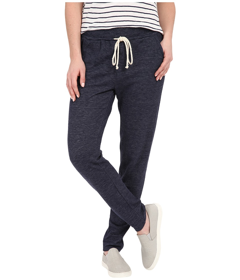 Splendid - Bias Stripe Active Pants (Navy) Women's Casual Pants