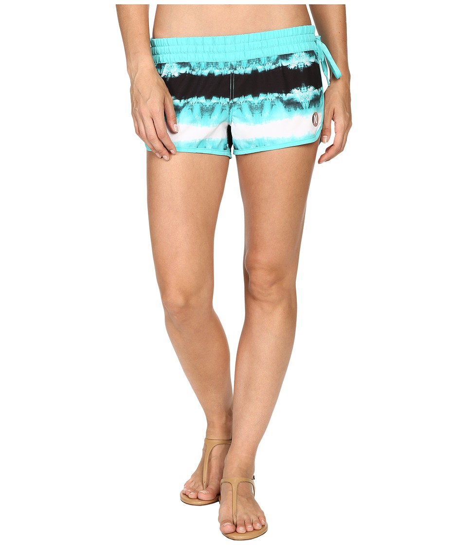 Hurley - Phantom Block Party Beachrider Boardshorts (Hyper Jade B) Women's Swimwear