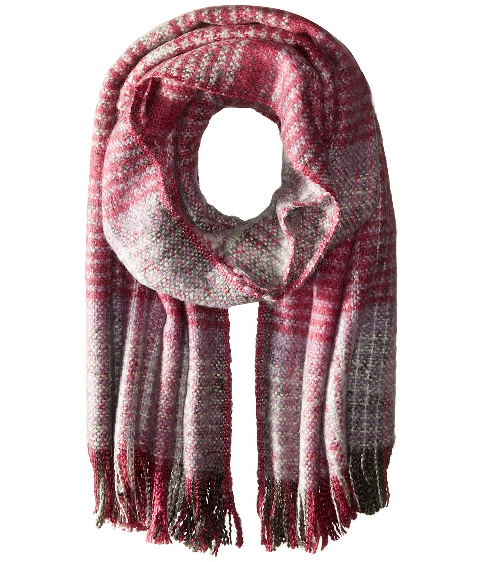 Echo Design - Great Scott Blanket Wrap (Berry) Scarves