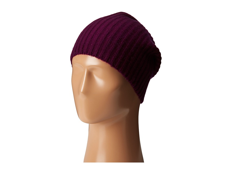 Echo Design - Chunky Cashmere Hat (Berry) Knit Hats