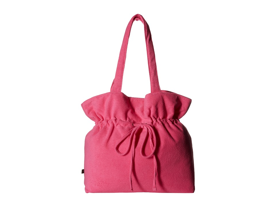Echo Design - Terry Naples Tote (Fuchsia Flower) Tote Handbags