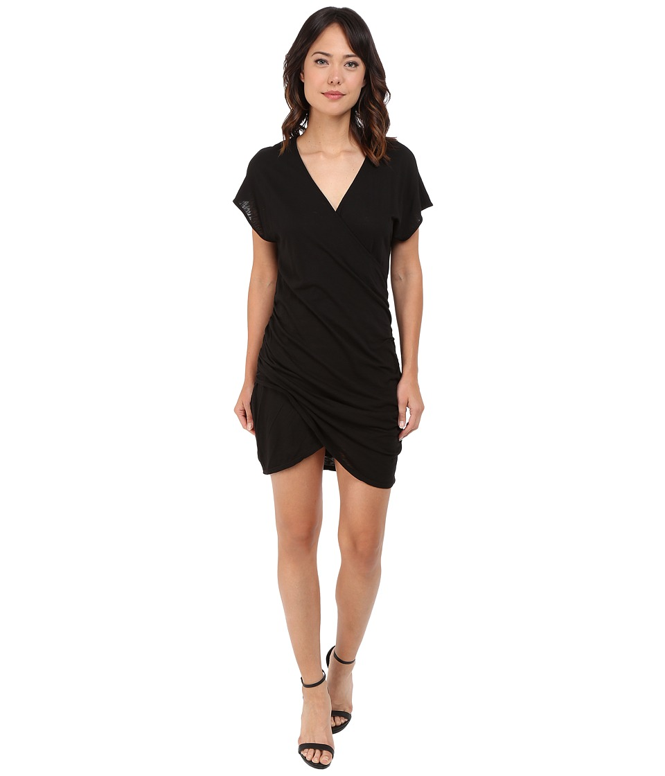 LAmade Olga Cross Over Dress (Black) Women