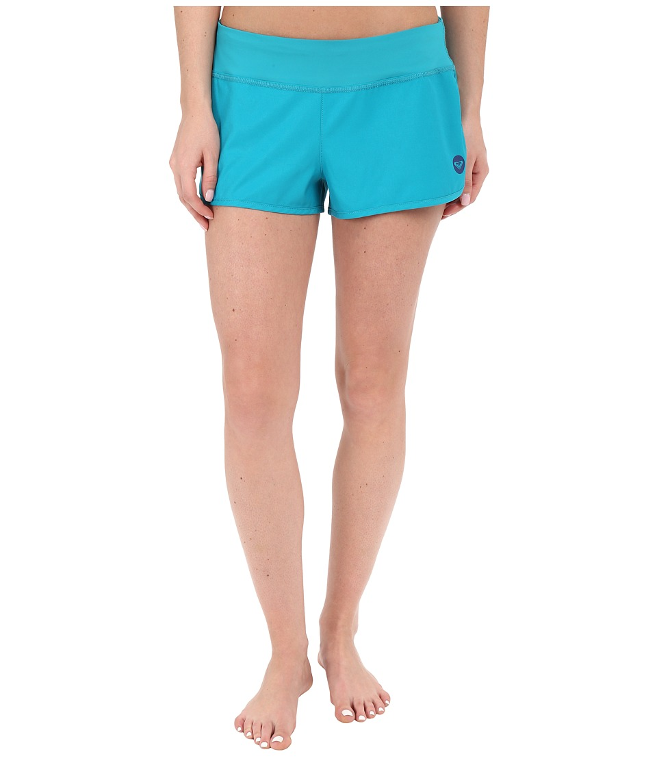Roxy - Essentials Endless Summer 2 Boardshorts (Dark Jade) Women's Swimwear