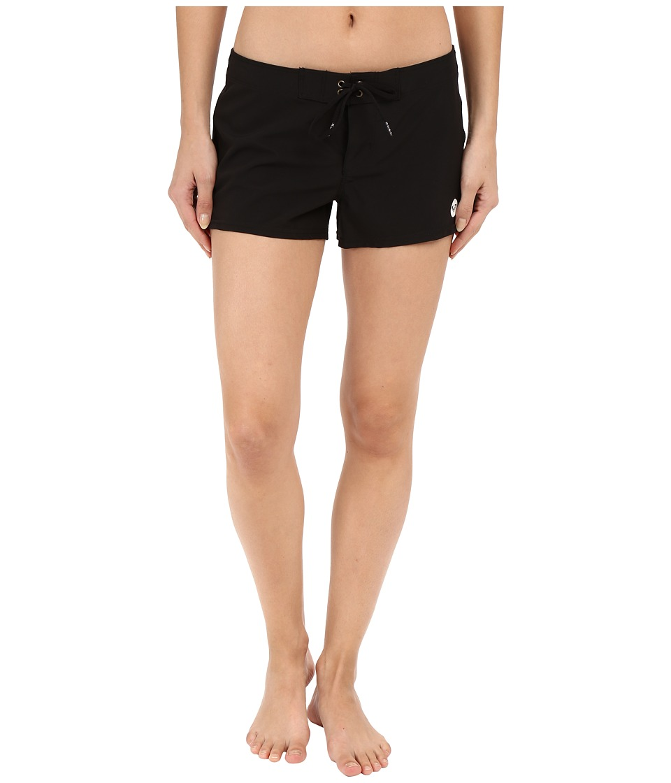 Roxy - Essentials To Dye For 2 Boardshorts (True Black) Women's Swimwear