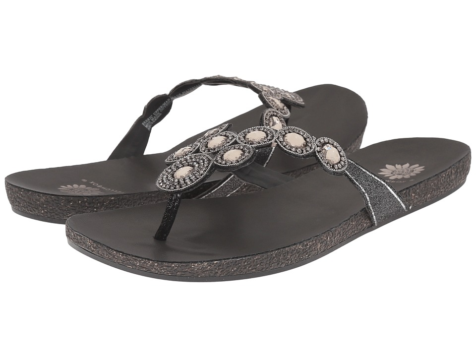 Yellow Box - Nectarine (Black) Women's Sandals