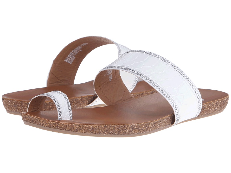 Yellow Box - Endear (White) Women's Sandals