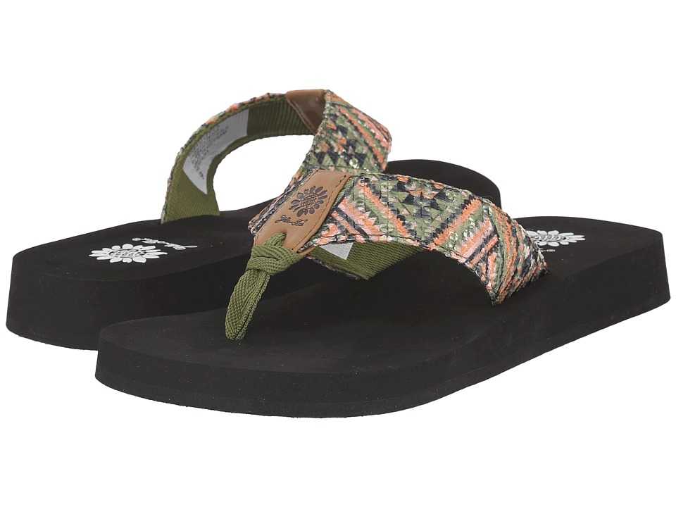 Yellow Box - Hespera (Green) Women's Sandals
