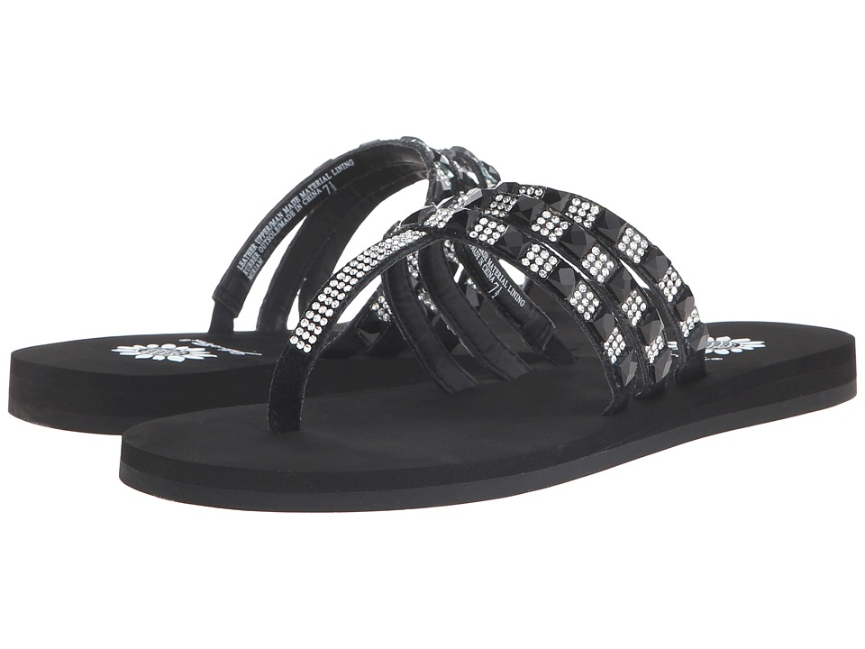 Yellow Box - Miriam (Black Clear) Women's Sandals