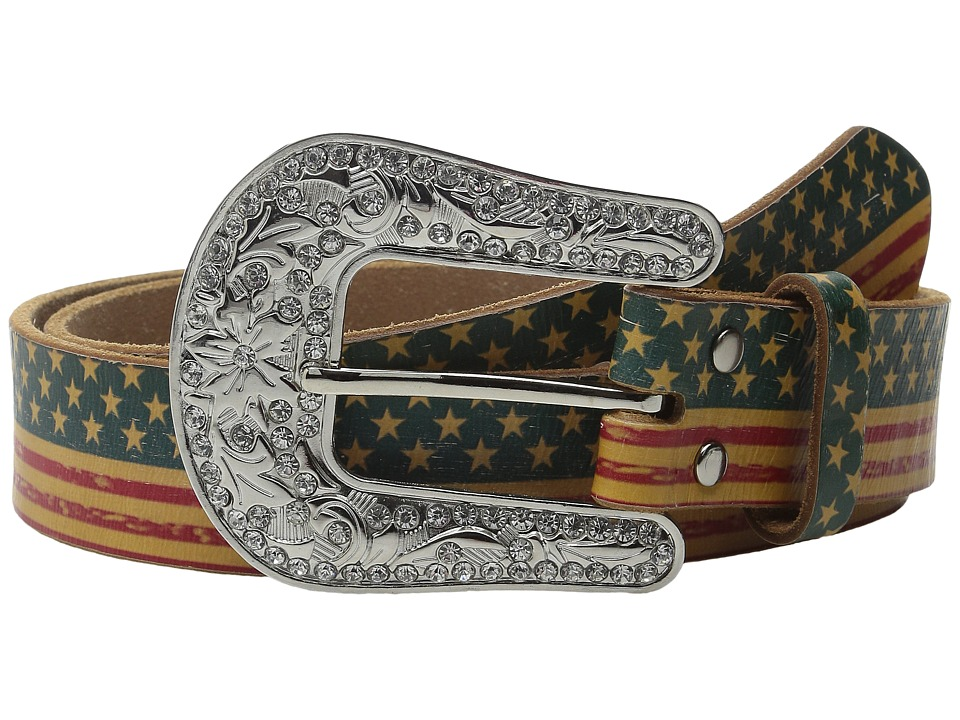 M&F Western - American Flag Belt (Multi) Women's Belts