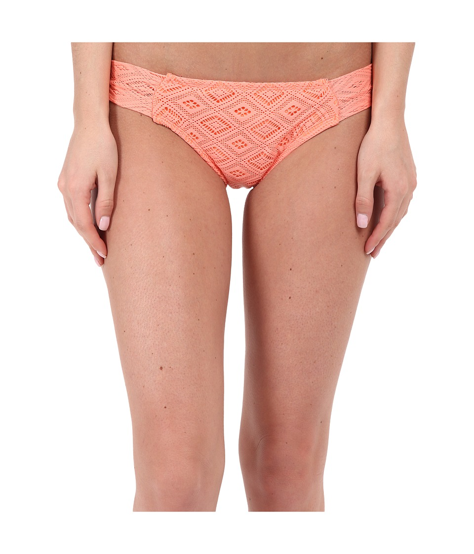 Roxy - Hazy Daisy Base Girl Pants (Sunkissed Coral) Women