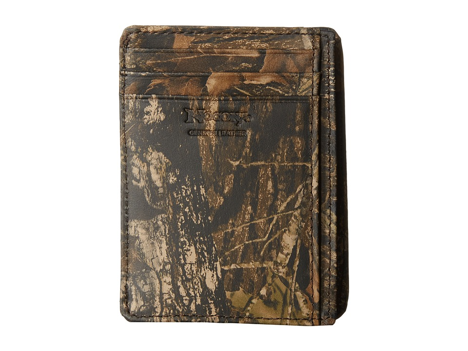 M&F Western - Mossy Oak Camo Shot Shell Card Case Wallet (Mossy Oak) Wallet Handbags