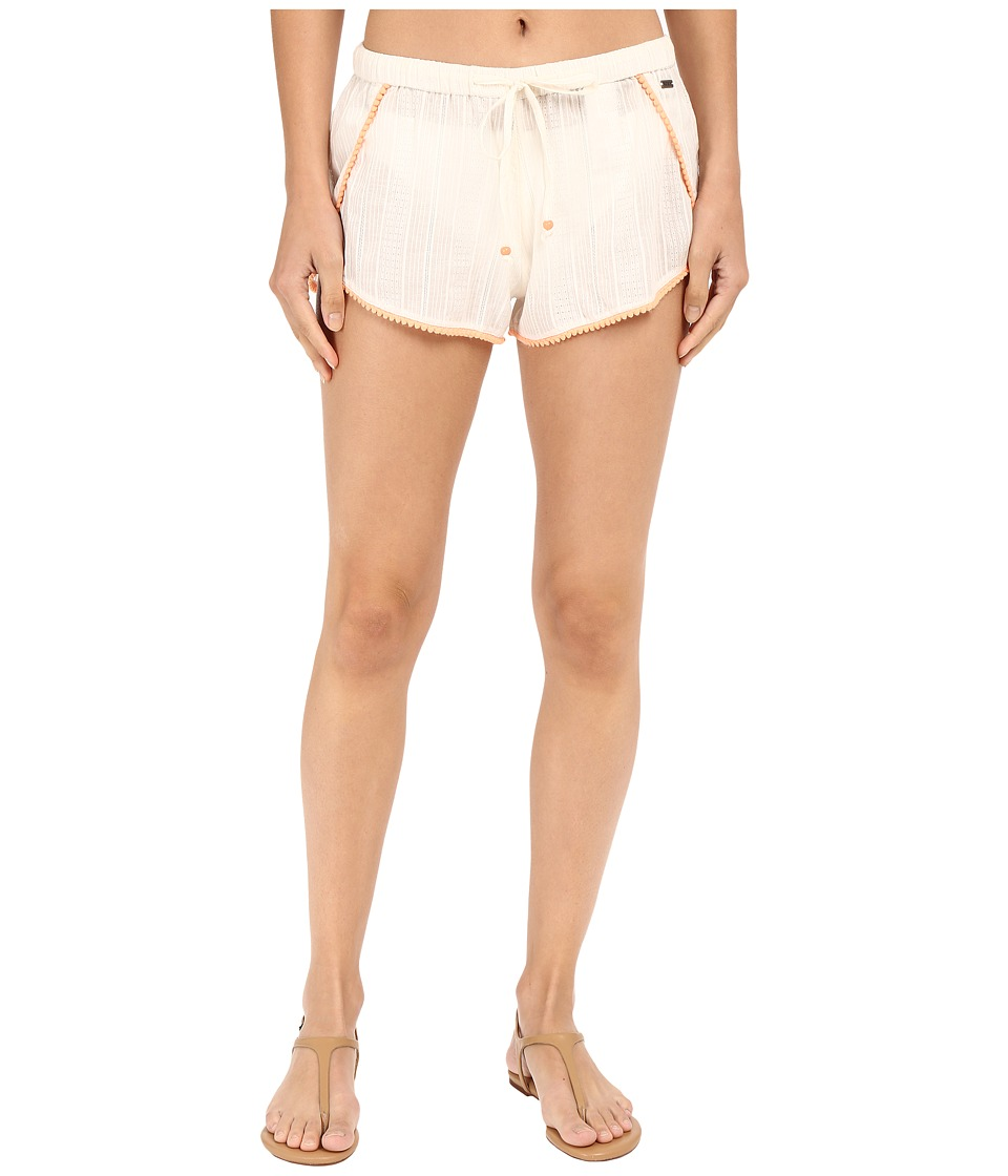 Roxy - Cute Pompom Shorts Cover-Up (Sea Spray) Women's Swimwear