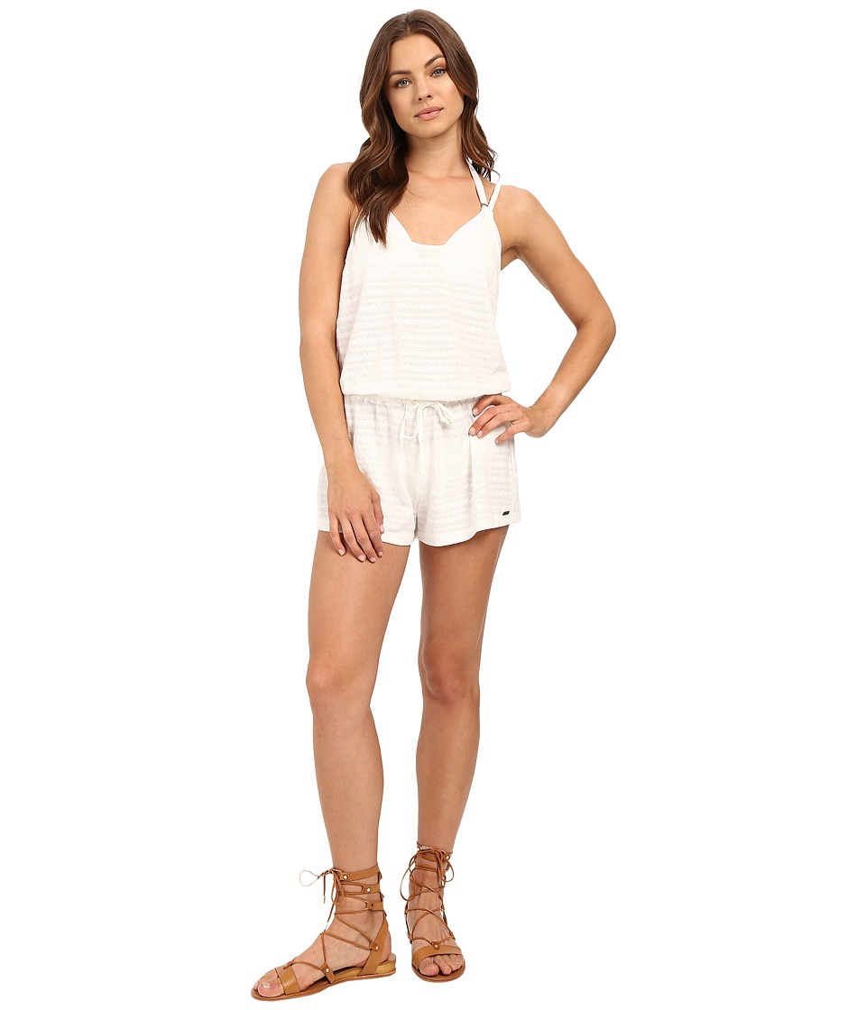 Roxy - Summer Lovin' Romper Cover-Up (Sea Spray) Women's Swimsuits One Piece
