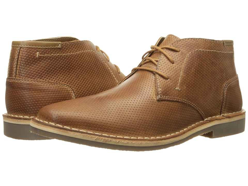 Steve Madden Helee (Tan Leather) Men