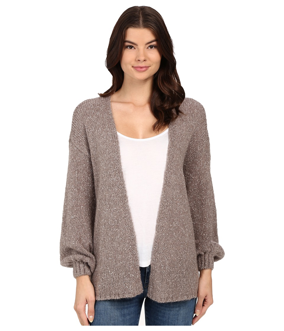 Volcom - Mellow Bellow Cardigan (Gunmetal Grey) Women's Sweater