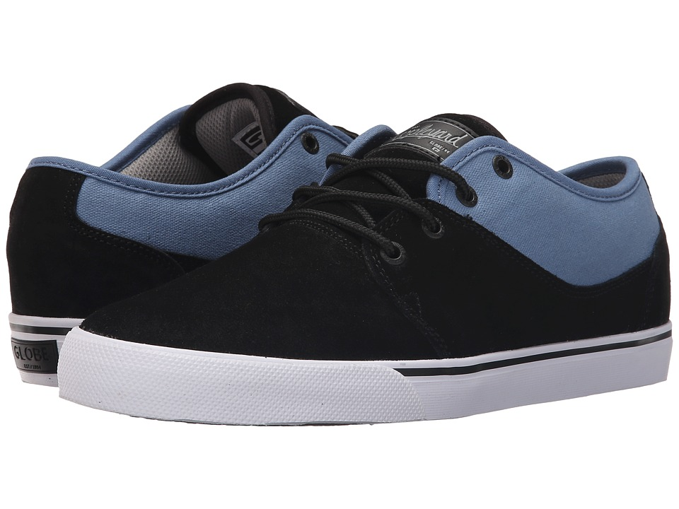 Globe - Mahalo (Black/Cornet Blue) Men's Skate Shoes