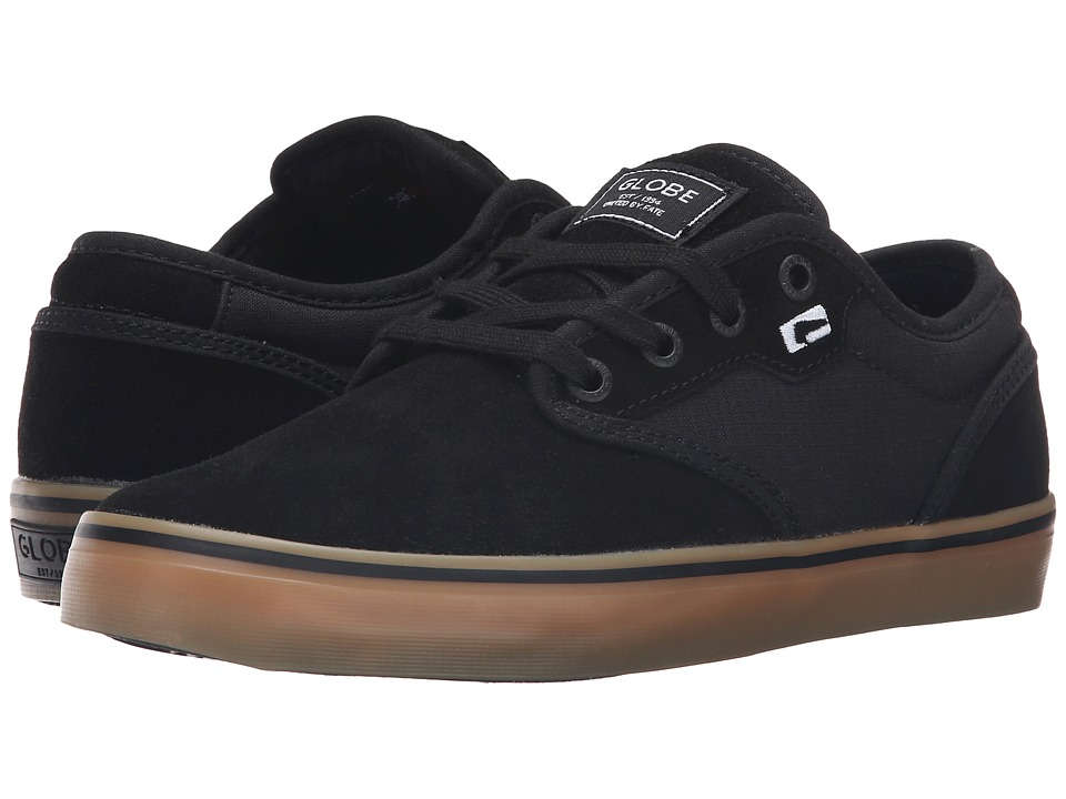 Globe - Motley (Black/Black/Gum) Men's Skate Shoes