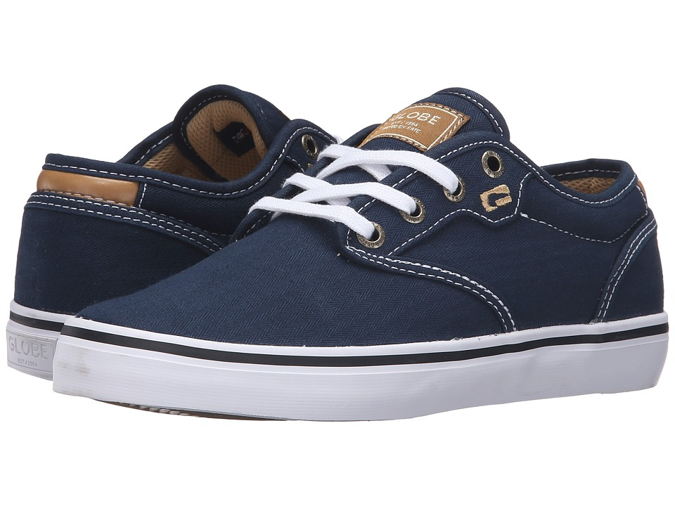 Globe - Motley (Navy/White/Tan) Men's Skate Shoes