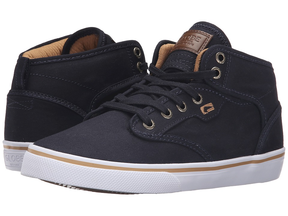 Globe - Motley Mid (Navy/Tan) Men's Skate Shoes