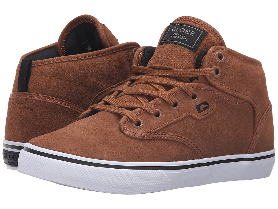 Globe - Motley Mid (Toffee/White) Men's Skate Shoes