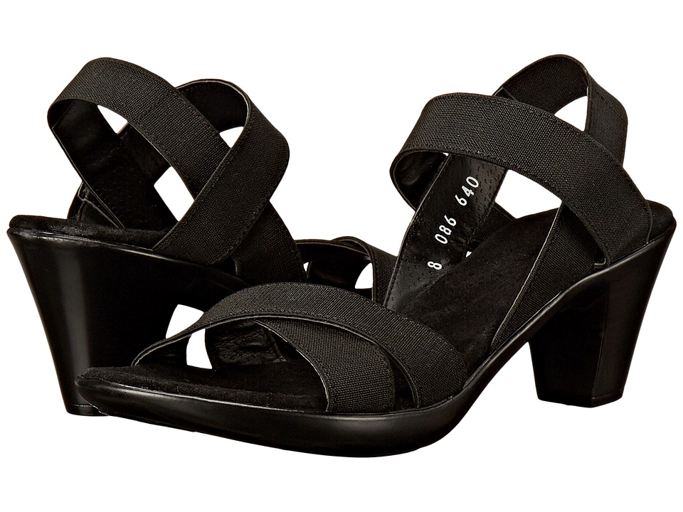 Vivanz - Lily (Black) Women's Sling Back Shoes
