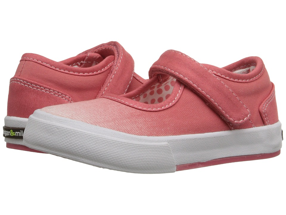 Morgan&Milo Kids - Maddie Mary Jane (Toddler/Little Kid) (Washed Coral) Girls Shoes