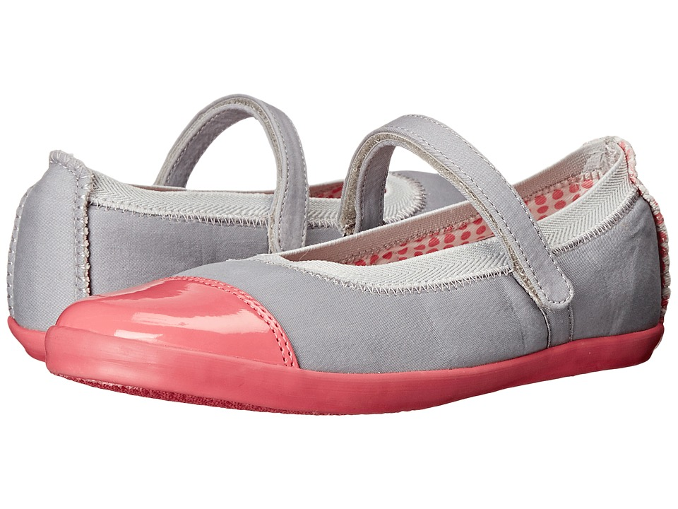 Morgan&Milo Kids - Olivia Mary Jane (Toddler/Little Kid) (Pale Neon Pink) Girls Shoes