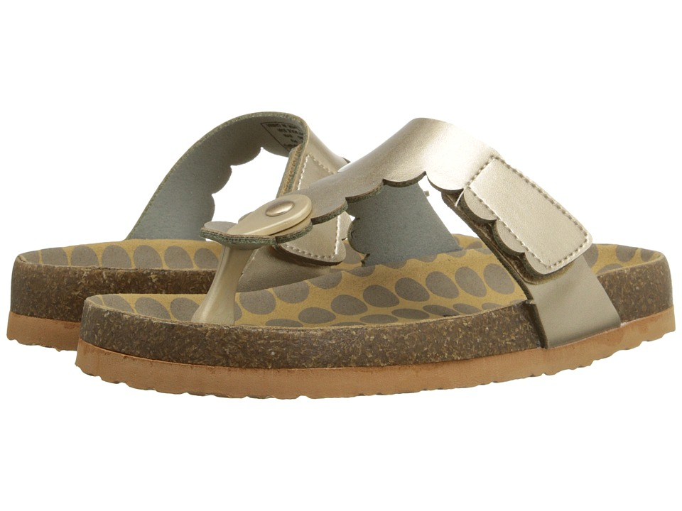 Morgan&Milo Kids - AB Special (Toddler/Little Kid) (Gold) Girls Shoes