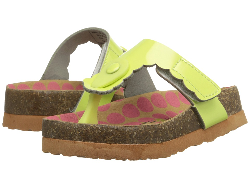 Morgan&Milo Kids - AB Special (Toddler/Little Kid) (Lime) Girls Shoes