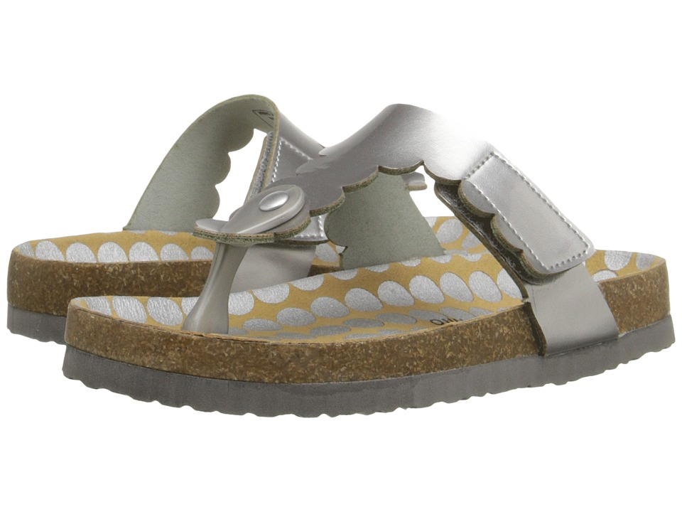 Morgan&Milo Kids - AB Special (Toddler/Little Kid) (Silver) Girls Shoes