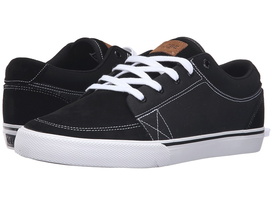 Globe - GS (Black/Black/White) Men's Skate Shoes