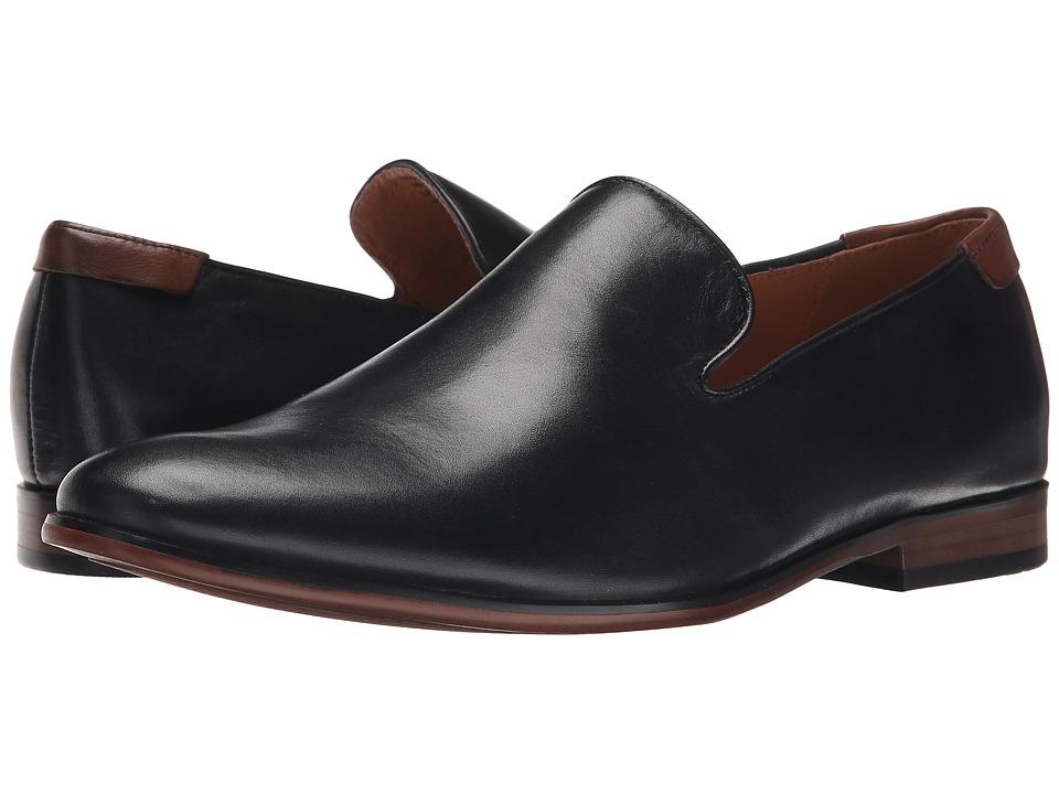 Steve Madden - Tofer (Black) Men's Slip-on Dress Shoes