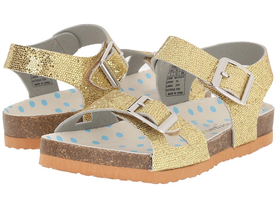 Morgan&Milo Kids - Bayou (Toddler/Little Kid) (Gold) Girls Shoes