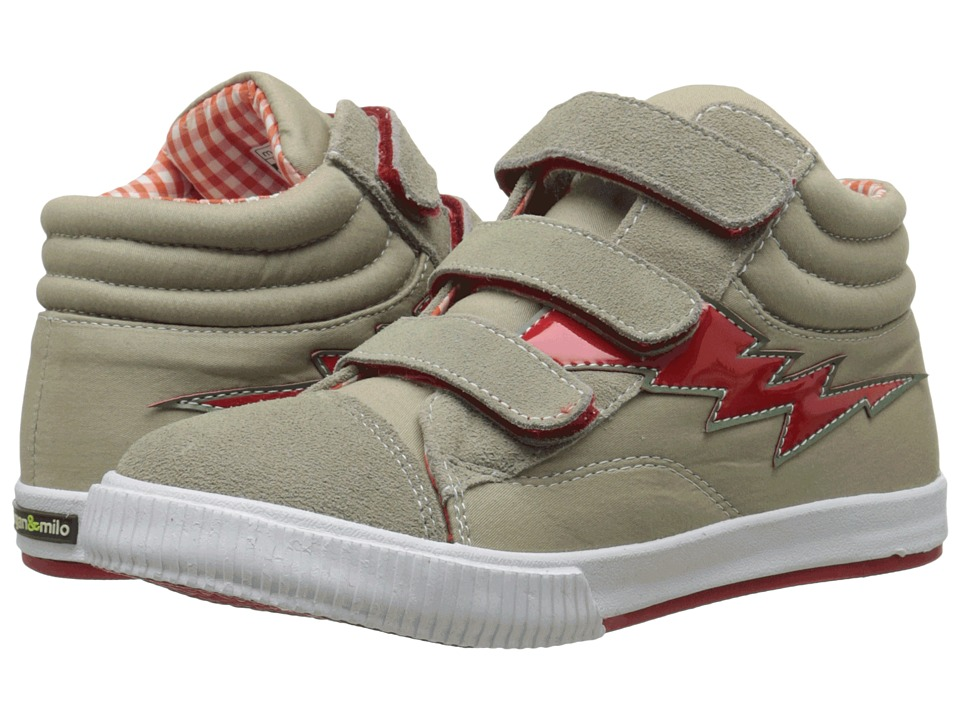 Morgan&Milo Kids - Mix It Up Triple V (Toddler/Little Kid) (Khaki) Boy's Shoes