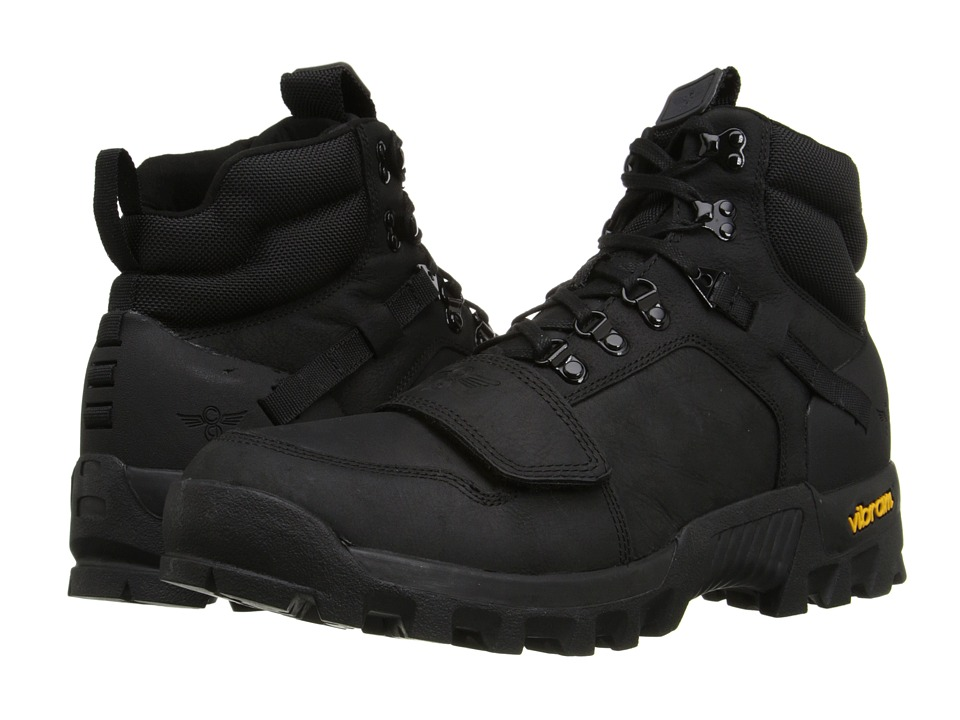 Creative Recreation - Dio (Black/Black) Men's Lace-up Boots