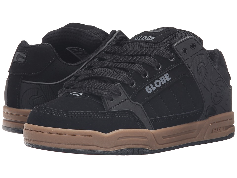 Globe - Tilt (Black/Gum) Men's Skate Shoes