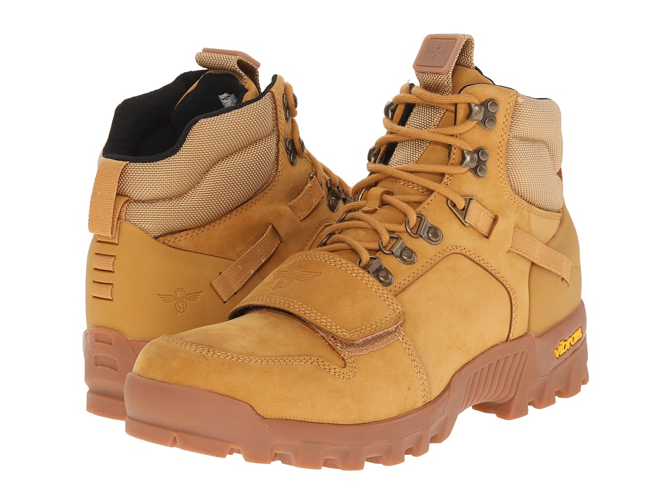 Creative Recreation - Dio (Wheat/Gum) Men's Lace-up Boots