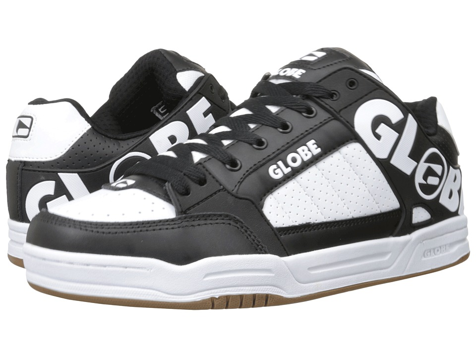 Globe - Tilt (White/Black) Men's Skate Shoes