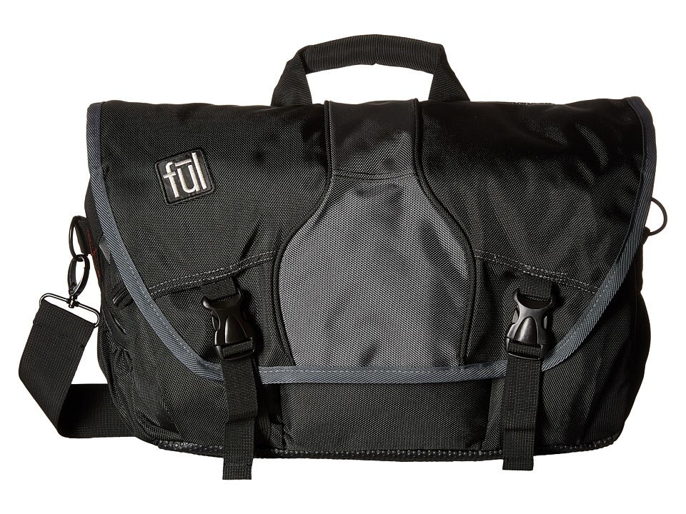 FUL - Out-N-About Backpack (Grey/Black) Backpack Bags
