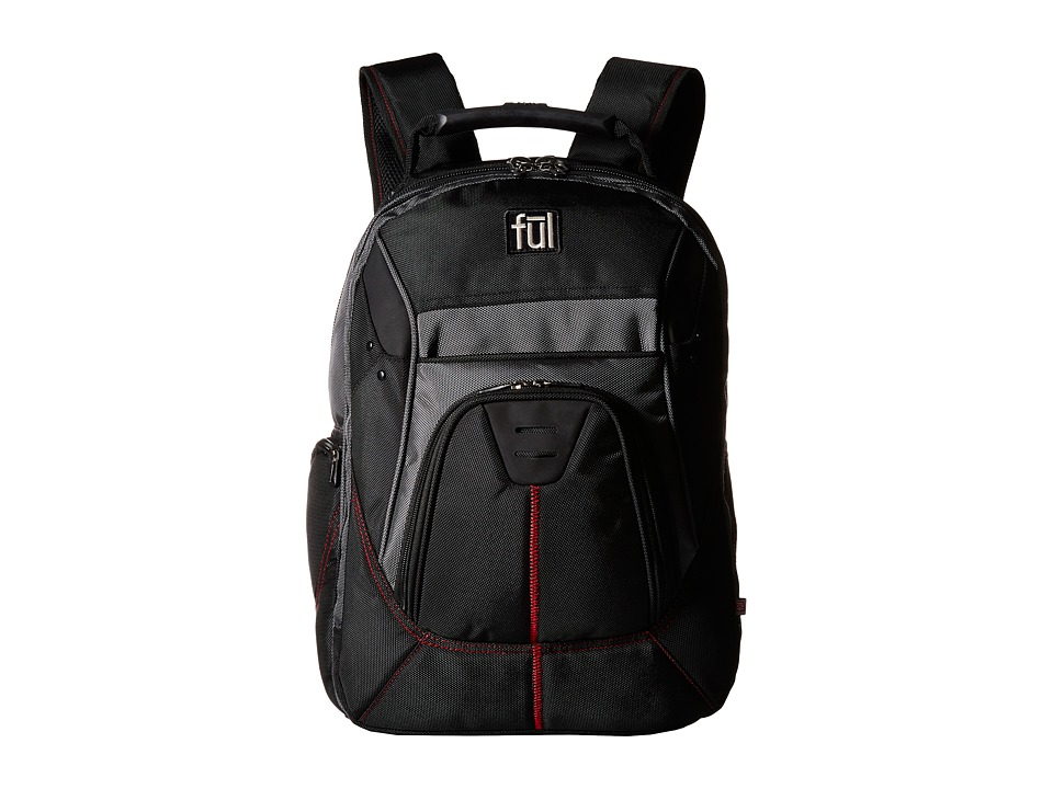 FUL - Gung-Ho Backpack (Black) Backpack Bags