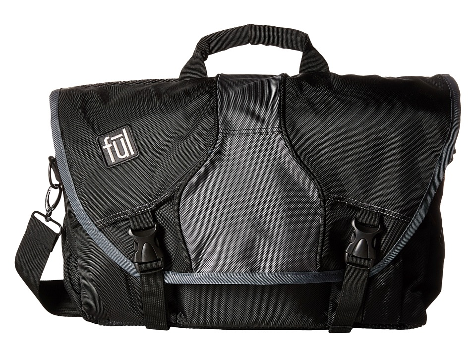 FUL - Out-N-About Backpack (Black) Messenger Bags