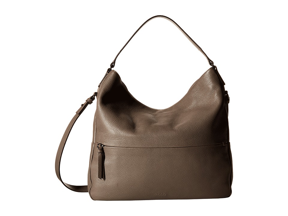 ECCO - SP Soft Hobo Bag (Moon Rock) Hobo Handbags