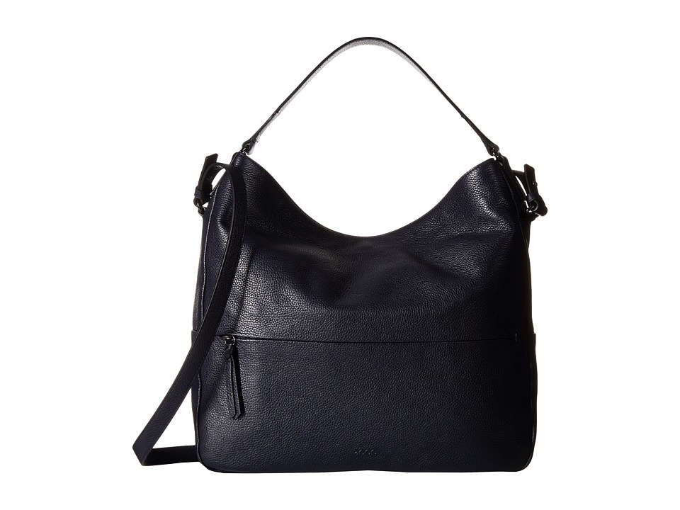 ECCO - SP Soft Hobo Bag (Navy/Blue) Hobo Handbags